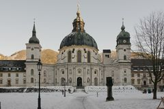 The Ettal Abbey Stock Photo