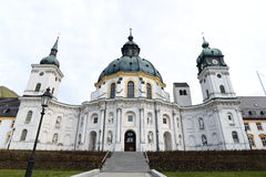 Ettal Abbey-Front Stock Photography