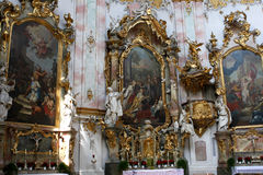 Ettal abbey, Germany Royalty Free Stock Images