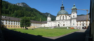 Ettal Abbey Royalty Free Stock Image