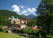 Ettal Abbey Royalty Free Stock Photo