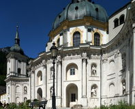 Ettal Abbey Stock Photo