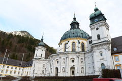 Ettal Abbey-Side Royalty Free Stock Image