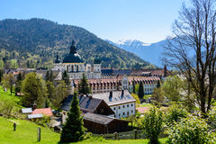 Ettal Abbey in Upper Bavaria, Germany. Royalty Free Stock Image
