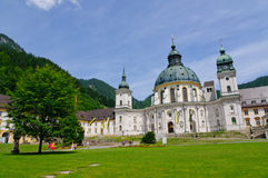 Ettal Abbey in Upper Bavaria, Germany Royalty Free Stock Image