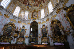 Ettal Abbey in Upper Bavaria, Germany Royalty Free Stock Images