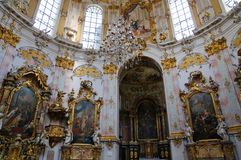 Ettal Abbey in Upper Bavaria, Germany Stock Photography