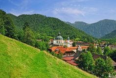 Ettal monastery in bavaria Stock Photography