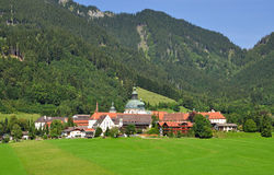 Ettal Monastery,Bavaria Royalty Free Stock Photography