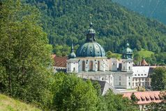 Ettal Monastery in upper Bavaria,Germany Royalty Free Stock Photos