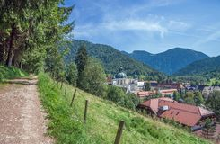 Ettal Monastery in upper Bavaria,Germany Stock Photography