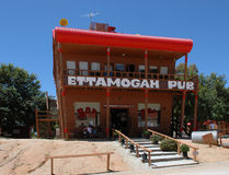 Ettamogah Pub. The Ettamagah pub started its life as a cartoon in a Australian magazine. To day it is a real life Tourist Attraction and is a exact copy of the Stock Images