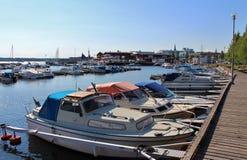 Ettans-Jachthafen stockfoto