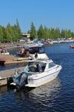 Ettans marina Royalty Free Stock Image