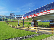 Ettelsberg cable car in Willingen (Germany) Royalty Free Stock Photography