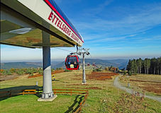 Ettelsberg cable car in Willingen Germany Royalty Free Stock Photo