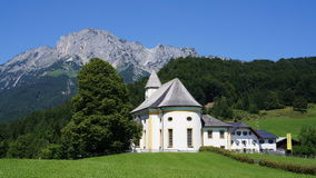 Ettenberg in the Bavarian Alps, Germany Stock Photography
