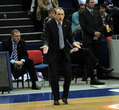 Ettore Messina. Russian Basketball League Final, Game 2: May 21, 2009 Royalty Free Stock Image