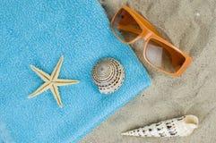 Etude da praia Fotos de Stock Royalty Free