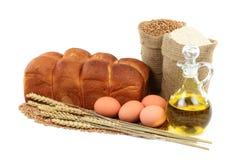 Etude de la foto del pan del huevo. Fotos de archivo libres de regalías