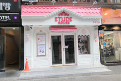 Etude house shop in Seoul, South Korea Stock Photography