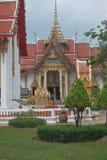 Etwas Architektur von Thailand-Tempel stockfotografie