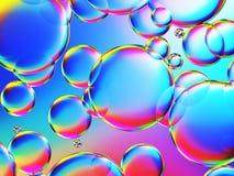 etwas bunter Blasenhintergrund Stockbild