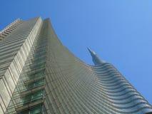 Etwas Skyline von der Stadt von Mailand lizenzfreies stockbild