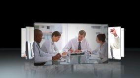Etwas Videos von Geschäftsleuten bei der Arbeit stock footage