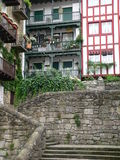 Etxeak, Hondarribia ( Basque Country ) Royalty Free Stock Photos