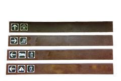 etykietka drewniana Fotografia Stock