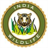 Etykietka India przyrody wieki ilustracji