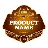 Etykietka projekt zdjęcie royalty free