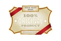 Etykietka szablon Fotografia Stock