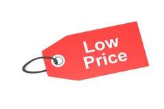 Etykietka z niską ceną Zdjęcia Stock