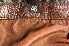 Etykietka z rozmiarem Obraz Stock