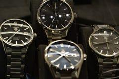 ETYKIETKI Heuer Carrera zegarki obrazy royalty free