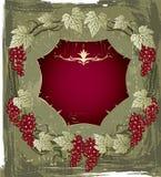etykietki rocznika wino royalty ilustracja