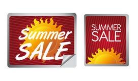 etykietki sprzedaży lato Obrazy Royalty Free
