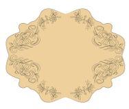 etykietki vector rocznika Zdjęcie Royalty Free