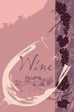 etykietki wino Zdjęcie Stock