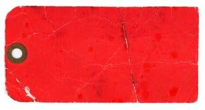 etykiety tła pusty czerwony white Zdjęcia Stock