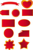 etykiety wektorowe miłe royalty ilustracja