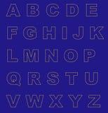 EU alphabet Stock Photo