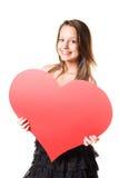 Eu amo? Fotografia de Stock Royalty Free