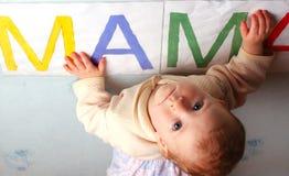 Eu amo assim o mum… Fotografia de Stock