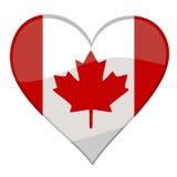 Eu amo Canadá ilustração do vetor
