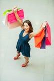 Eu amo comprar! Fotografia de Stock Royalty Free