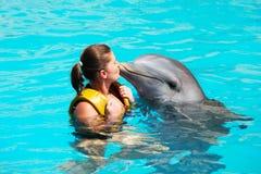 Eu amo golfinhos! Imagens de Stock Royalty Free
