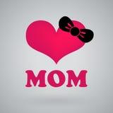 Eu amo a mamã, dia de mães feliz Fotos de Stock